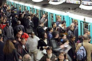 Foule RATP